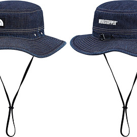 Supreme, THE NORTH FACE - Denim Horizon Breeze Hat
