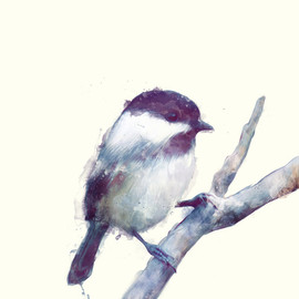 Amy Hamilton - Bird // Trust Art Print