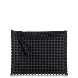 Christian Louboutin - Peter studded leather pouc