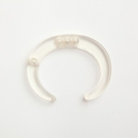 JUTIQU - Essence Bangle 4(8mm pearls random)
