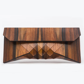 TeslerMendelovitch - Wood Clutch // TIGER ROSE