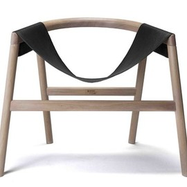 David Haymann Edition - Chair, Leather and Wood
