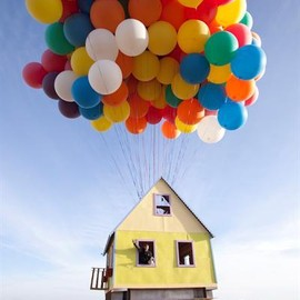 Up-Inspired Floating House