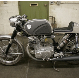 1966 Honda - CB77  1966 - Super Hawk 'Café'