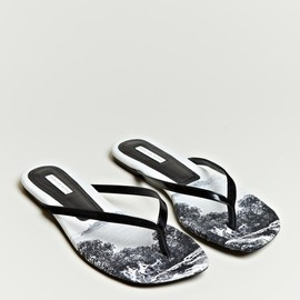 DRIES VAN NOTEN - DIGITALLY PRINTED SANDALS