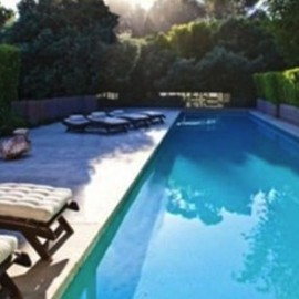 Brad Pitt - Brad Pitt's Swimming Pool, Malibu, California