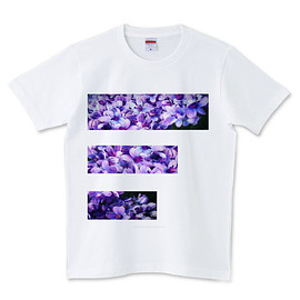 catharsis - アジサイTシャツ