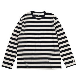 ENDS and MEANS - Pocket Border L/S tee