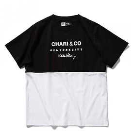 CHARI&CO - CHARI&CO for Keith Haring / バイトーン Tシャツ