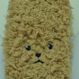KEORA KEORA - toy poodle iphone cover(ベージュ)