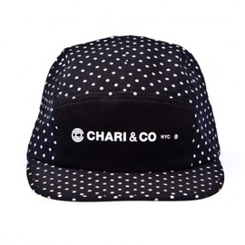 CHARI&CO NYC - Chari & Co.   Polka Dot 5 Panel Cap