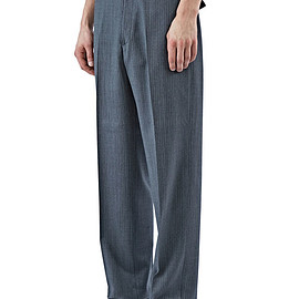 LANVIN - VINTAGE STRIPE STRAIGHT LEG PANTS