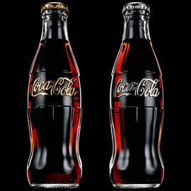 Coca-Cola - Daft Punk Coca Cola Bottles