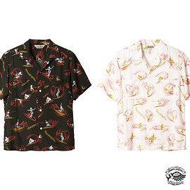 STANDARD CALIFORNIA - SD Surfer Hawaiian Shirt