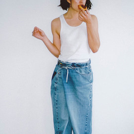 MAISON EUREKA - VINTAGE REWORK BIGGY PANTS