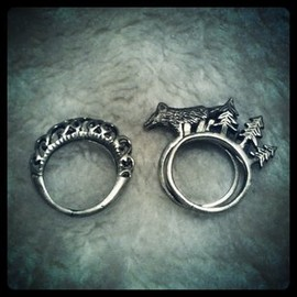 made in Thailand - Wolf Ring