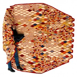 Ronan and Erwan Bouroullec for Nanimarquina in 2011 - Losanges Rug