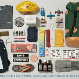 "STUSSY Livin' GENERAL STORE - ""CALIFORNIA FLEA"" Vintage & Selected Items"