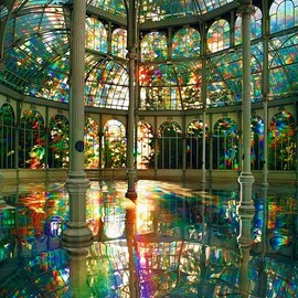 Buen Retiro Park, Madrid, Spain - Crystal Palace