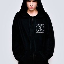 long clothing - Zip Up ICON Hood