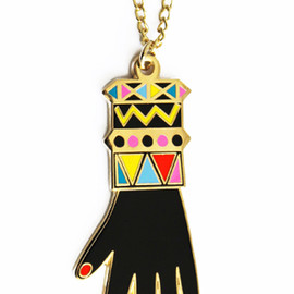 LAZY OAF - JAZZY HAND NECKLACE