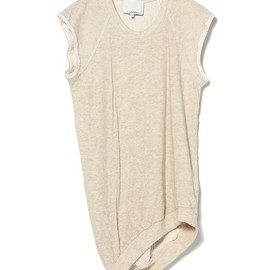 3.1 Phillip Lim - s/s curved seam cut off sweatshirt