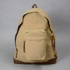 ARTS&CRAFTS - AGING CANVAS / ACUTE DAYPACK(TAN)