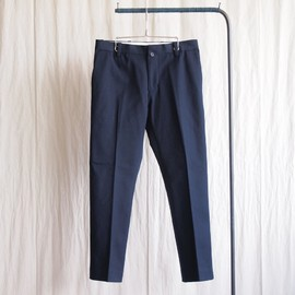 YAECA - Slim Slacks #navy