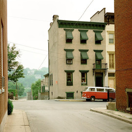 Stephen Shore - Church Street and Second Street, Easton, Pennsylvania, June 20, 1974