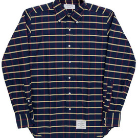 THOM BROWNE - Oxford Check Shirt