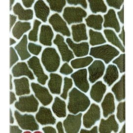 SECOND SKIN - uistore「GIRAFFE(KHAKI)」/ for iPhone 4S/SoftBank
