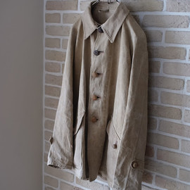 LILY1ST VINTAGE - 1890-1910's antique french linen hunting jacket