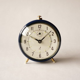 jaz - alarm clock/ navy blue / france 1941~1967