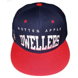 BBP - RED & NAVY DWELLERS SNAP BACK CAP