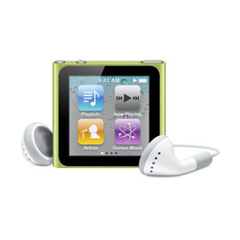 Apple - iPod nano 8GB (Green)