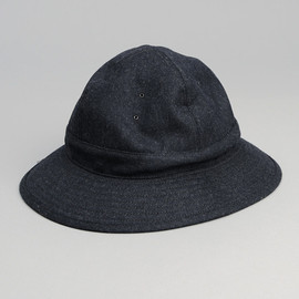 PHIGVEL - Wool Fatigue Hat, Navy