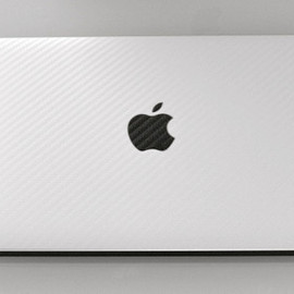 iCarbons - MacBook Pro - Back+Keyboard+Bottom White Carbon Fiber
