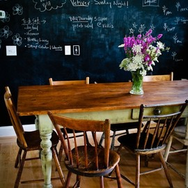 yes, I'm always pretty in love with chalkboard walls