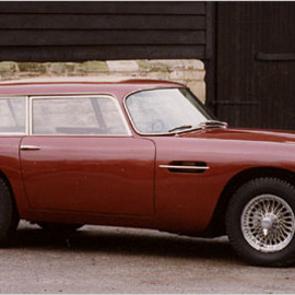 David Brown's 1965 Aston Martin DB5 Shooting Brake