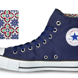 CONVERSE - ALL STAR® IN-TILE HI  NAVY