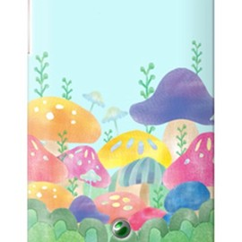 SECOND SKIN - uistore 「Kinoko(pink)」 / for Xperia SX SO-05D/docomo