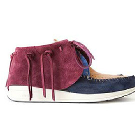 visvim - FBT/KUDU/multi-panel version/'F.I.L. Sendai Renewal Open' Shoes