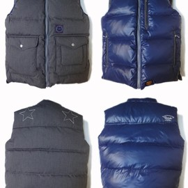 UNRIVALED - UNRIVALED×M&M RV-DOWNVEST GRAY