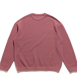crepuscule - Moss Stitch L/S Sweat-Pink