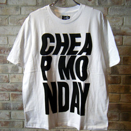 CHEAP MONDAY - Perfect tee CM bold distorted