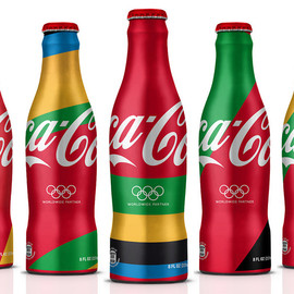 Coca-Cola, MWM graphics, attik - London 2012 Olympics bottles and Cans
