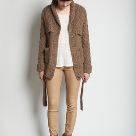 Maison Martin Margiela - Double Layer Cardigan / Camel
