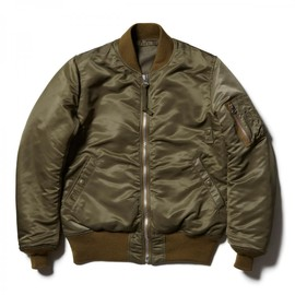 HEAD PORTER PLUS - MA-1 JACKET KHAKI