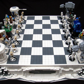 Design Don't Panic: Star Wars Chess Set