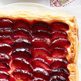 Australian - Quick and easy plum tart